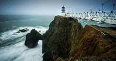 Perfect Day Trip from San Francisco?  (It's on my to-do list):  Point Bonita Lighthouse, Marin Headlands