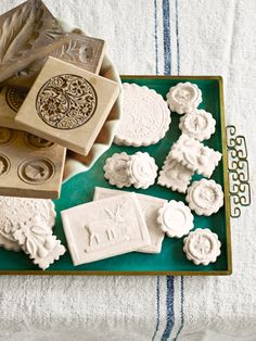 Springerle cookie molds