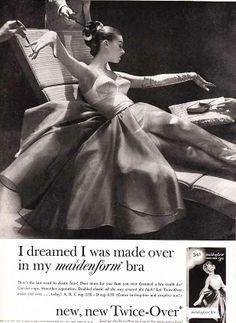 I dreamed I was made over, 1958.