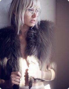 Need a fur vest.