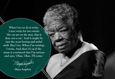 #Writing Tips 8/30- Maya Angelou | by @chrisritter16 for BuzzFeed.com #education #teach #English