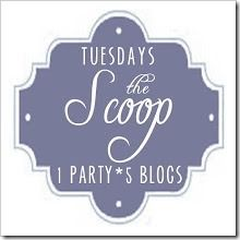 Link up your Crafts, DIY's and recipes at The Scoop Linky party!