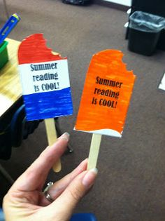 Fun centers where the kids make a summer prep kit that includes a summer reading challenge, a summer journal and math fact flashcards!
