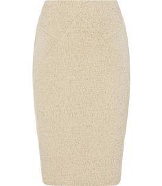 REISS Rowan Panelled Skirt