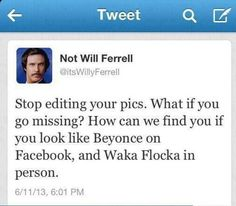 Lmao ~ Will Ferrell can be so funny!