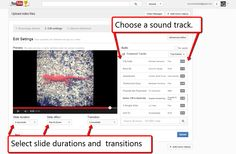 Free Technology for Teachers: How to Create YouTube Photo Slideshows - A Good Alternative to Animoto