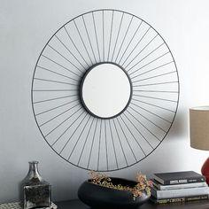 masculine sunburst mirror