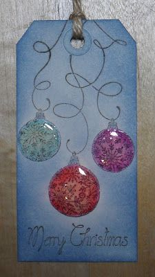 Helen's Craft Haven...: Glossy Baubles