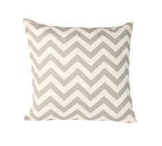 Grey chevron Cushion for spare room