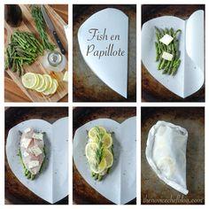 Fish en Papillote (Fish in Parchment Paper)
