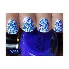 Delft blue and white