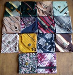 Necktie Wallets by Aisle 3, via Flickr