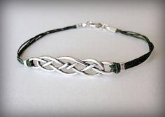 NEW  Sterling Silver Celtic Knot bracelet by JewelryByMaeBee, $24.00