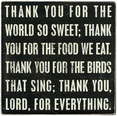 Thank You Lord For Everything Quote by justbeautifulthings on Etsy, $38.00