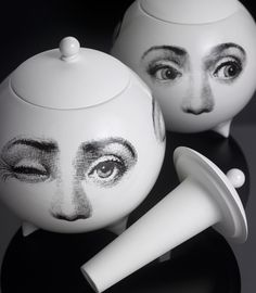 piero fornasetti, nomad chic, chic abstract
