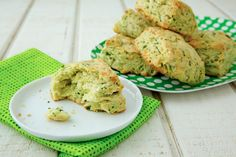 13 Naturally Green St. Patrick's Day Recipes on Babble! Cheddar Chive Scones from Weelicious!