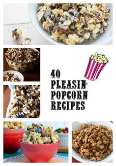 momstestkitchen: 40 Pleasin' Popcorn Recipes