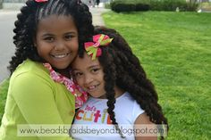 Great hairstyles for kinky and curly hair!