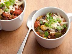 Vegetarian Chili Recipe : Robin Miller : Food Network - FoodNetwork.com