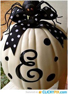 36 Creative Painted Pumpkins – Quit Carving Pumpkins