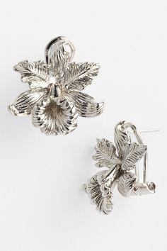 Givenchy Iris Stud Earrings