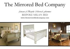 Maybe a MILANO MIRRORED BED from The Mirrored Bed Company is the one for you? Beds built around your dreams... contact us now to help us make yours!