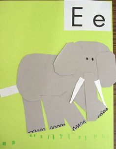 ABC activities for letters a-e