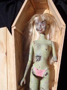 Zombie Barbie OOAK.