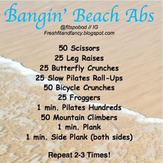 bod, beaches, abs workouts, fitness, workout exercis, ab workouts, bangin, beach abs workout, health