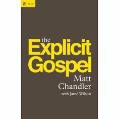 Can't wait to read this book by my Pastor Matt Chandler.  Can be pre-ordered on Amazon now.  Matt has a way of making the gospel crystal clear while encouraging believers to press into Christ and receive the abundant grace and love available.