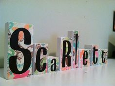 Super props to @Emily Love.. need to keep this for inspiration with my name decorating! :)