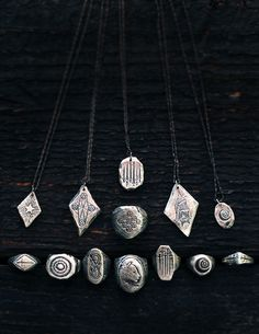 Tarot collection jewelry