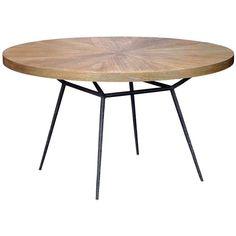 oly studio frank dining table. at zinc door.