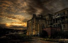 Decayed urban decay, sunsets, buildings, decay build, blog, light, abandon decay, photography, abandon build