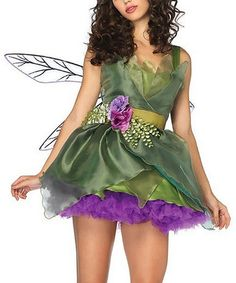 Love this Green Fairy Costume - Women on #zulily! #zulilyfinds