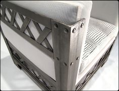 Eye-full Tower Steel Chair by RiggoDesign, via Flickr