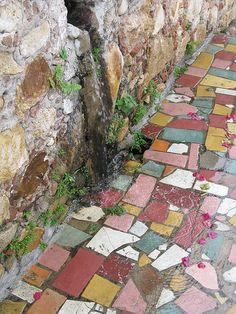 Tiles in Puerto Vallarta Mexico