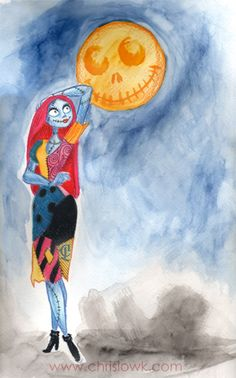 Sally Nightmare Before Xmas by ~chrislowk on deviantART