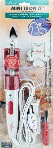 Amazon.com: Clover Mini Iron II -The Adapter: Arts, Crafts & Sewing