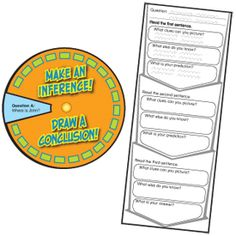 Inference / Conclusion free printable
