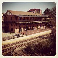 Amtrak's Lynchburg Line trains travel between Washington, D.C., and Lynchburg, Va.