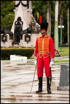 Guardia de Honor, campo de Carabobo Valencia.