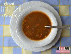 Greek Lentil Soup (F...