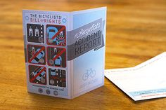 Great idea: Bike accident report cards