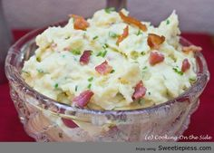 chive mash, savory foods, sour cream, mashed potatoes, food dinners, mash potato, thanksgiving foods, holiday foods, comfort foods