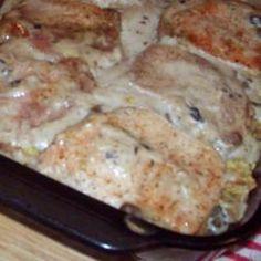 Apple Pork Chop Casserole