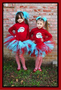 Thing 1 and Thing 2 (AKA Sayuri and Johanna's school costume?)