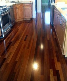 wood floor cleaner and polisher: apply a thin coat of 1:1 vegetable oil and vinegar and rub in well.