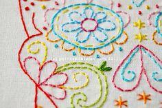 Embroidery Sugar Skull