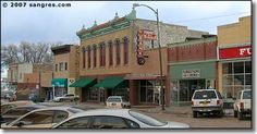 Downtown in Las Vegas, New Mexico